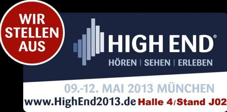 Silberstatic auf der HIGH END 2013 in München, Mai